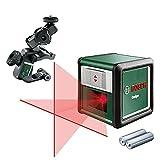 Láser de líneas cruzadas Bosch Quigo con soporte múltiple (3 ....