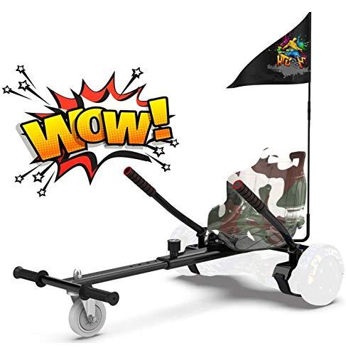 RCB Hoverkart für Hoverboard Sitz Zubehör für selbstausgeglichenes Scooter Go...