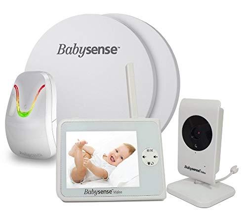 NEU BABYSENSE SET V35 Babyphone mit Sensormatten und Kamera: Babysense Video V35...