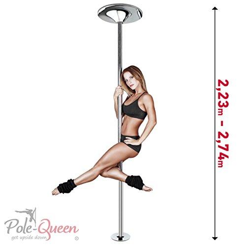 Pole-Queen Pole Dance Stange ORIGINAL Tanzstange Poledance Stange für zu Hause...