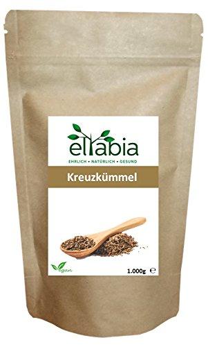 eltabia Kreuzkümmel Kumin 1kg 1000g Maxi Pack ganze Samen Gewürz