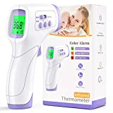 Fever Thermometer Contactless KKmier Medical Infrared Forehead and Fever Thermometer Accurate Measurement ...