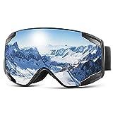 Extra Mile ski goggles, snowboard goggles for men and women, snowboard goggles mirrored ...