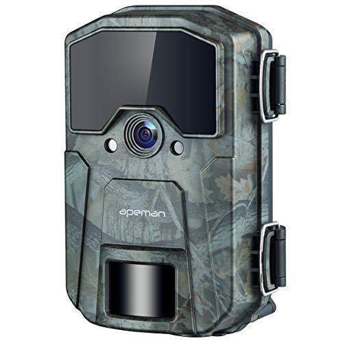 APEMAN Wildkamera 20MP 1080P Infrarot-Nachtsicht Jagdkamera mit 940nm IR LEDs,...
