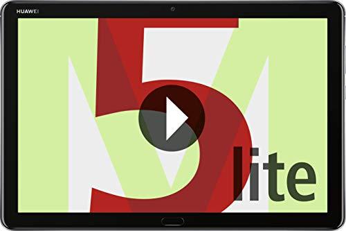 HUAWEI Mediapad M5 Lite WiFi Tablet-PC (25,6 cm (10,1 Zoll) Full HD Display, 32...