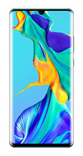 Huawei P30 Pro 128GB Handy, Hellblau/Lavendel, Breathing Crystal, Android 9.0