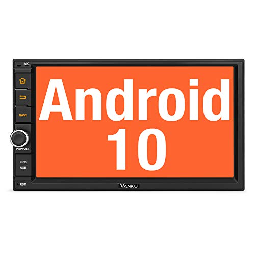 Vanku Android 10 Autoradio Radio 2GB+32GB mit Navi Unterstützt Qualcomm...
