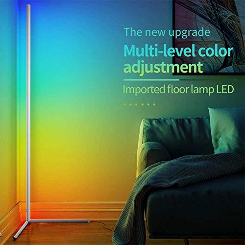 Yunjie LED gulvlampe nordisk stil hjørnegulvlampe ...