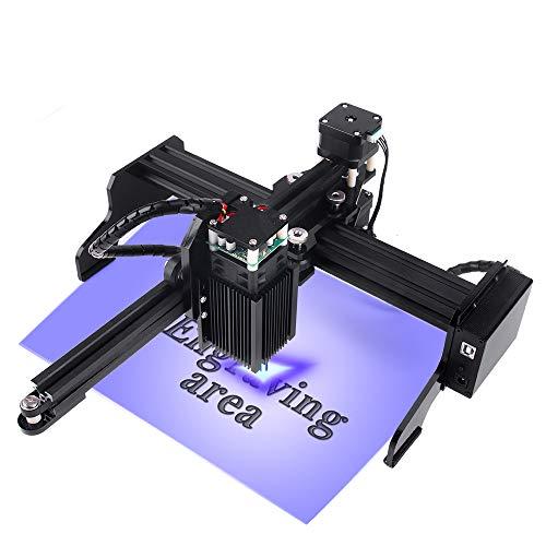 CNC Maschine Laser Graviermaschine mit 22X12CM Arbeitsbereich Super einfach zu installieren und zu bedienen für Anfänger zum Schnitzen und Schneiden...