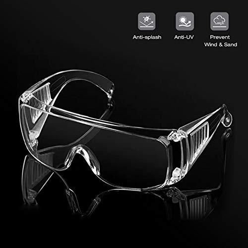 Namsan Schutzbrille Arbeitsschutzbrille Einstellbare Augenschutz Anti-Kratzer Anti-Nebel Anti-Ultraviolett Vollsicht Üerbrille für...