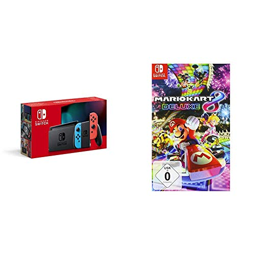 Nintendo Switch Konsole - Neon-Rot/Neon-Blau (neue...