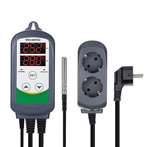 Inkbird ITC-308 Temperatur Steuerung Steckdosen 220V Thermostat mit NTC...