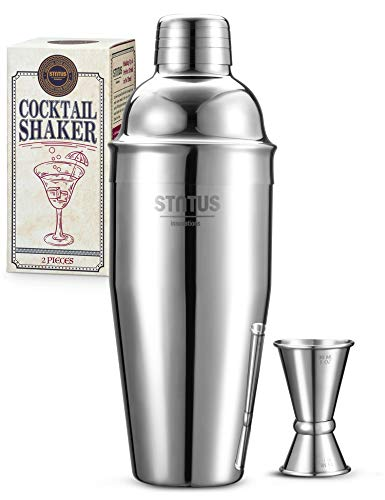 Cocktail Shaker, STNTUS Cocktail Set, 750ml Cocktailshaker, Cocktail Shaker Set,...