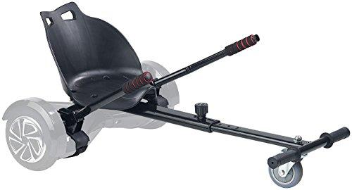 Speeron Hoverboard Sitz: Nachrüst-Set Kart-Sitz für Elektro-Scooter bis 8',...