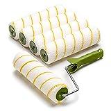 5 x Colorus sárga szálas tintahenger | Festőhenger 25 cm 12 mm ...
