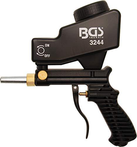 BGS 3244 | Druckluft-Sandstrahlpistole | 5 mm Stahlspitze | ABS-Gehäuse