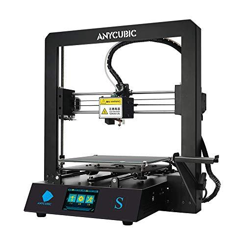 ANYCUBIC 3D Drucker Mega S Ganzmetallrahmen FDM mit Aktualisierter Extruder,DIY...