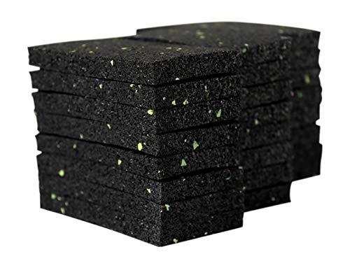 Terrassenpad Pads Underlay Terrassenpads Granulate Rubber