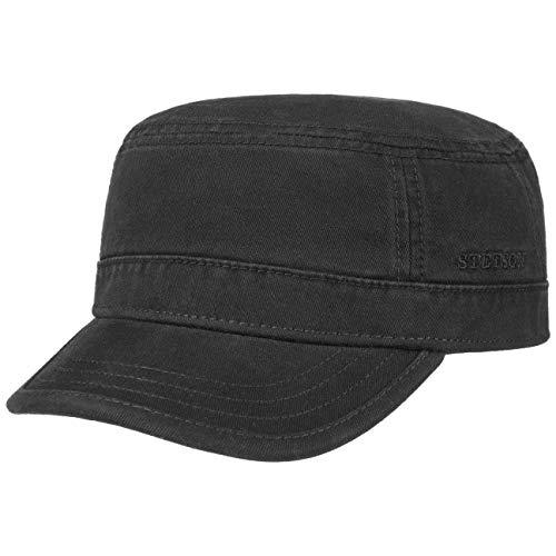 Roffatide Unisex Baumwolle Flat Top Peaked Baseball Cap Armee Milit/är Corps Hut Kappe Visier