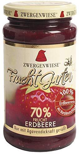 Zwergenwiese Bio FruchtGarten Erdbeere (6 x 225 gr)