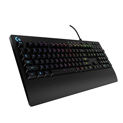 Logitech G213 Prodigy Gaming-Tastatur, RGB-Beleuchtung, Programmierbare...