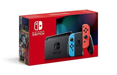 Nintendo Switch Konsole - Neon-Rot/Neon-Blau (2019...