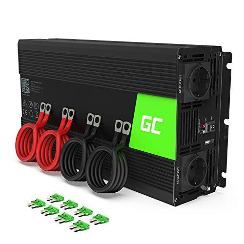 Green Cell® 2000W/4000W 12V auf 230V Volt kfz Spannungswandler Wechselrichter...