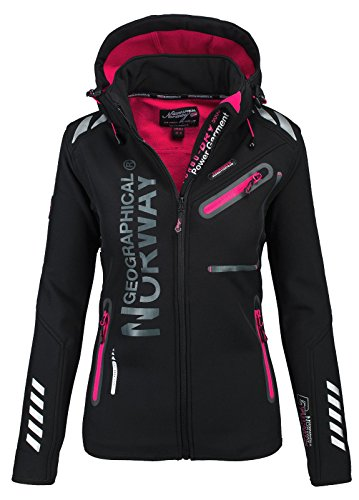 Geographical Norway Damen Softshell Funktions Outdoor Regen Jacke Sport...