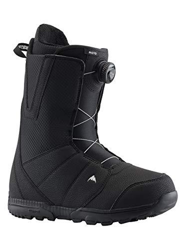 Burton Herren Moto Boa Snowboard Boot, Schwarz (Black), 43 EU