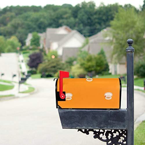 YXUAOQ Süße Boba Grüntee Trinken Standardgröße Original Magnetic Mail Anschreiben Briefkasten 21 x 18 Zoll Mailbo Covers Mailbox Decor Mailbox...