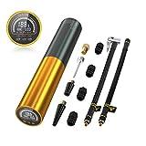 AUTDER batteri elektrisk luftpumpe mini, 0-120PSI, 3000mAh, batterikompressor ...