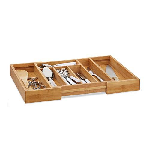 ORGA-BOX/® Besteckeinsatz 1117 x 474 mm f/ür Blum Tandembox ModernBox