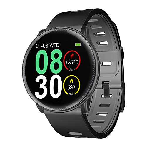 Smartwatch, UMIDIGI Uwatch2 Fitness Tracker Sport Ambanduhr Smart Watch mit Facebook, Twitter, Whatsapp, Skype-Benachrichtigung kompatibles IOS und...