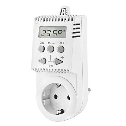 Elektrobock Steckerthermostat TS05 Thermostat Infrarotheizung