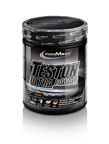 IronMaxx Teston Ultra Strong Muscle Blaster - 500g Pulver - Orange - Pre Workout...