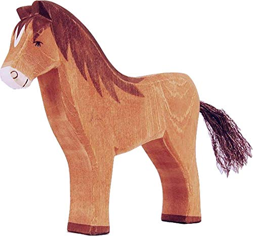 Ostheimer 11112 Pferd braun Höhe 13,5cm