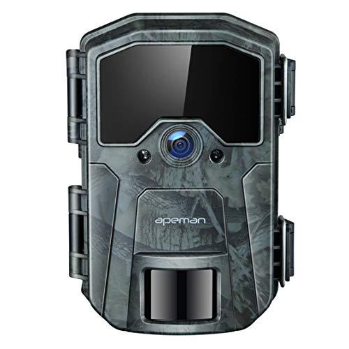 APEMAN Wildkamera 20MP 1080P Infrarot-Nachtsicht Jagdkamera mit 940nm LEDs,...