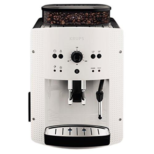 Krups EA8105 Kaffeevollautomat, automatische Reinigung, 2-Tassen-Funktion, Milchsystem mit CappucinoPlus-Düse, 15 bar, Espresso-Kaffee-Maschine,...