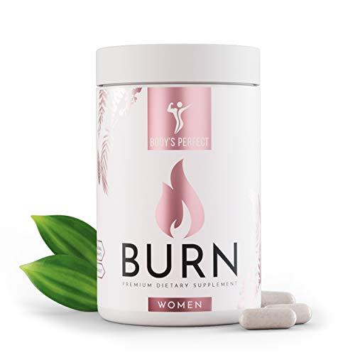 BODY'S PERFECT® BURN Kapseln entwickelt für Frauen, mit 19 Inhaltsstoffen, 120...