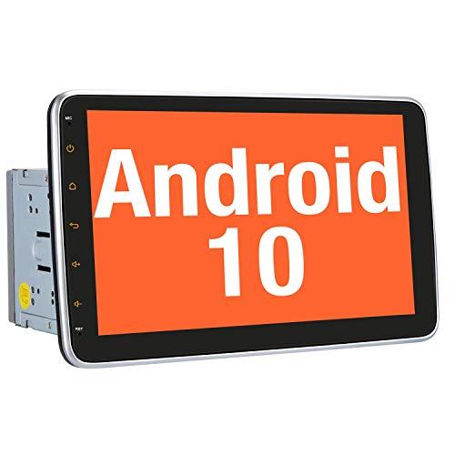Vanku Android 10 Autoradio Moniceiver mit Navi 10 Zoll Bildschirm Unterstützt...