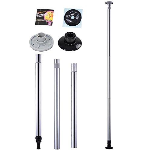 Mophorn Pole Dance Stange 50 mm Pole Dance Tanzstange Edelstahl Static Spining...