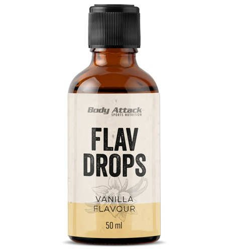Body Attack Flav Drops 3 x 50ml Rocky Road 3er Pack
