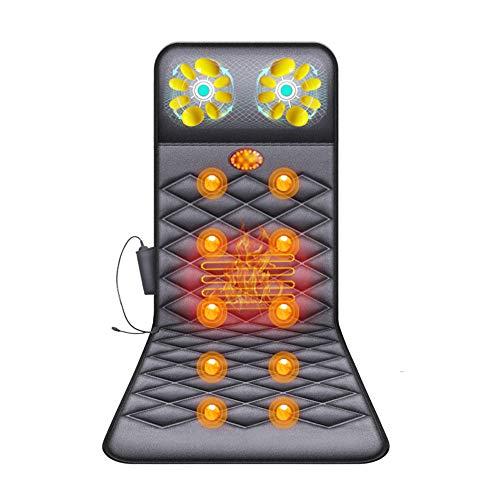 Ganzkörper Massagematte Mit Wärmefunktion - Massageauflage 10...