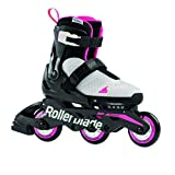 Rollerblade jenter MICROBLADE Free 3WD G inline skate, GRAY / PINK, 230