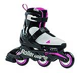 Rollerblade Mädchen MICROBLADE Free 3WD G Inline-Skate, GRAU/ROSA, 230