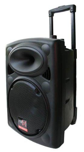E-Lektron EL25-M 500W mobile PA Sound Anlage Akku-MP3-USB-SD inkl. Funkmikrofone...