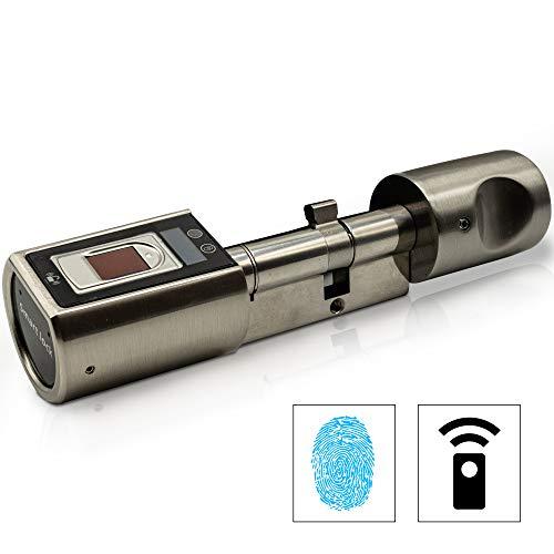 Sorex Flex Fingerprint Türschloss für Fernöffnung mit deutschem Support! - Zylinder längenverstellbar, schnelle einfache Montage, elektron....