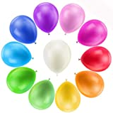 Farverige balloner, 110 stykker Farverige balloner, balloner ...