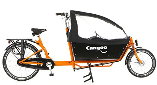 Transportrad Tangoo Downtown Plus orange schwarz