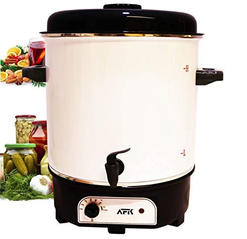Einkochautomat 27 Liter | 1800 Watt | Temperatur von 40-100°C | Dauerbetrieb | Abschaltautomatik Einkochvollautomat, Heißgetränkeautomat,...